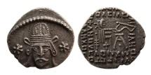 KINGS OF PARTHIA. Meherdates. Ca. AD 49-51. AR Drachm.