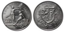 World Coins - SWITZERLAND, Kanton Thurgau. Frauenfeld. 1890. AR Schützenmedaille (Shooting Medal).