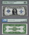 World Coins - US Early Large Bank Notes. $ 1. 1923 Silver Certificate. FR 238. Choice UNC. MS 64. EPQ