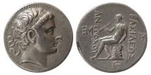 Ancient Coins - SELEUKID KINGDOM. Antiochus III. 223-187 BC. AR Tetradrachm. Seleucia on the Tigris. First Reign.