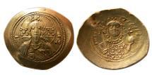 Ancient Coins - BYZANTINE EMPIRE. Michael VII. Ducas. 1071-1078 AD. Gold Histamenon Nomisma.