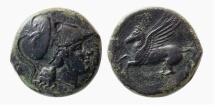 Ancient Coins - SICILY, Syracuse. Agathokles. 317-289 BC. Æ 20mm.