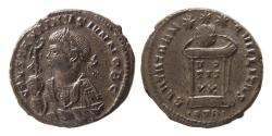 Ancient Coins - ROMAN EMPIRE. Constantine II, as Caesar. AD. 317-337. Æ Follis. Lovely strike.