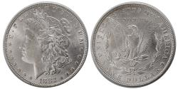 World Coins - UNITED STATES. 1882. Morgan Dollar. Choice UNC.