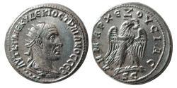 Ancient Coins - SYRIA, Seleucis and Pieria. Antioch. Trajan Decius. AD 249-251. Billon Tetradrachm. FDC. Lustrous.