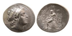 Ancient Coins - SELEUCID KINGDOM. Seleucus III. 226-223 BC. Silver Tetradrachm. Antioch on the Orontes.