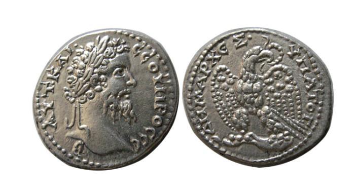 Ancient Coins - SYRIA, Seleucis and Pieria. Antioch. Septimius Severus. AD 193-211. AR Tetradrachm