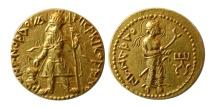 Ancient Coins - INDIA, KUSHAN KINGS. Kanishka I. 127-151 AD. Gold Dinar. Lovely strike. Lustrous.