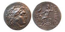Ancient Coins - KINGS of MACEDON, Alexander III. 336-323 BC. Silver Tetradrachm. Posthumous issue. Mesembria.