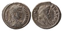 Ancient Coins - EGYPT, Alexandria. Hadrian. 117-138 AD. BI Tetradrachm. Lovely strike. Rare.