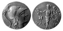 Ancient Coins - PAMPHYLIA, Side.  Ca. 2nd -1st Century  BC. AR Tetradrachm.