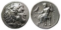 Ancient Coins - KINGS of MACEDON. Alexander III. 336-323 BC. AR Tetradrachm. Byblos mint.
