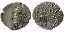 Ancient Coins - KINGS of PARTHIA. Osroes II. Circa AD 190-208. AR Drachm. Ekbatana mint.