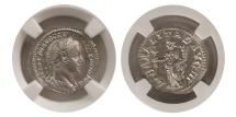 Ancient Coins - ROMAN EMPIRE. Severus Alexander. 225-235 AD. AR Denarius. NGC-Choice Mint State.