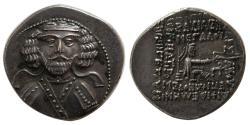 Ancient Coins - KINGS of PARTHIA. Phraates III. Circa 70/69-58/7 BC. AR Drachm. Rhagai mint.