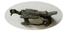 Ancient Coins - ROMAN Bronze Fibula. Ca. 3rd-5th. Century AD.