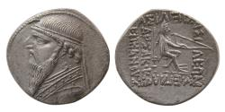 Ancient Coins - KINGS of PARTHIA. Mithradates II (121-91 BC). AR Drachm.