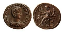 Ancient Coins - EGYPT, Alexandria. Salonina. AD. 254-268. Æ Tetradrachm. Dated RY 11 of Gallienus (AD 263/4).