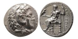 Ancient Coins - KINGS of MACEDON, Philip III, Arrhidaeus. 323-317 BC. AR Tetradrachm. Babylon.