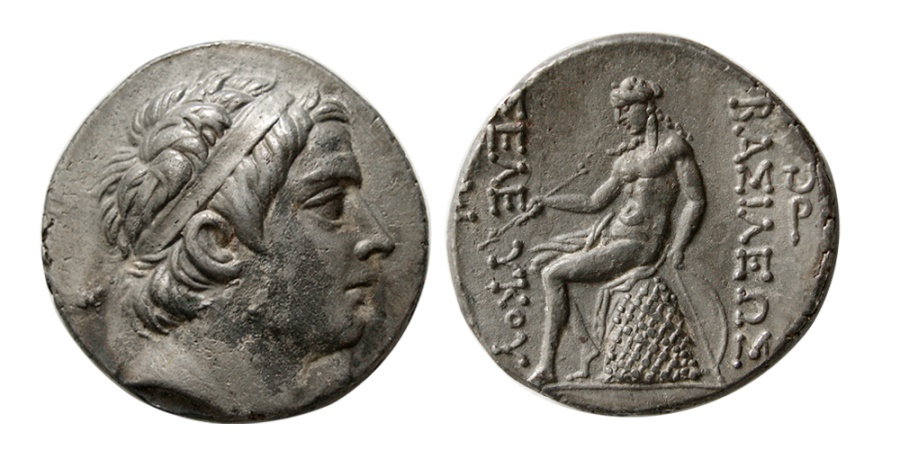 Ancient Coins - SELEUKID KINGDOM. Seleukos III Soter. 226-223 BC. AR Tetradrachm.  Antioch on the Orontes.