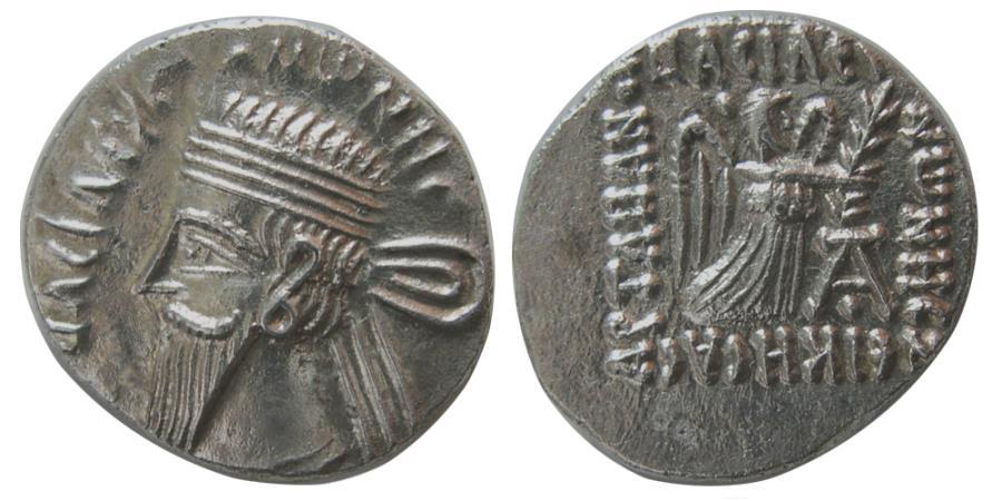 Ancient Coins - PARTHIAN KINGS. Vonones I. 8-12 AD. AR Drachm.
