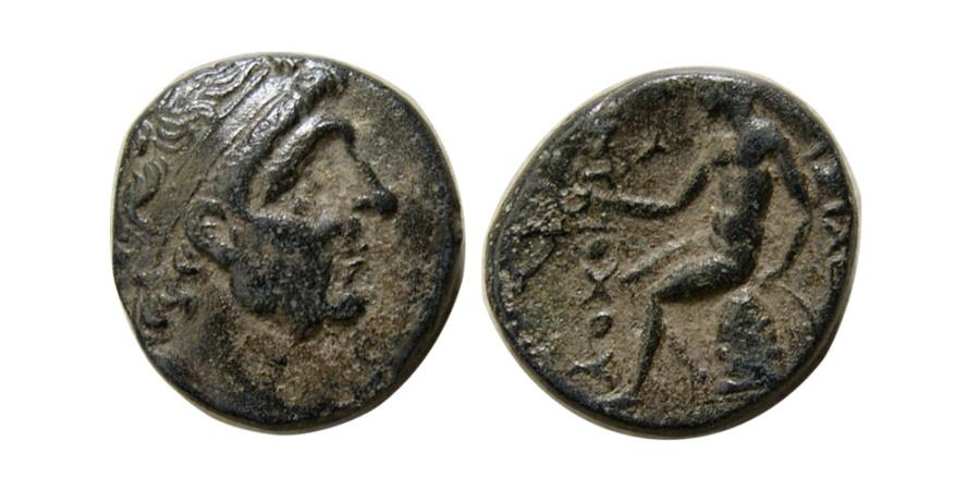 Ancient Coins - SELEUKID KINGS, Antiochos I. 281-261 BC. AE 15mm.