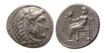 Ancient Coins - CELTIC, Danube Region. Imitating Philip III of Macedon. Circa 3rd Century BC. AR Tetradrachm.