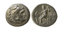 Ancient Coins - KINGS of THRACE, Lysimachus. 305-281 BC. AR Drachm. Magnesia ad Maendrum.