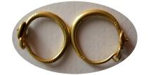 ANCIENT ROMAN JEWELRY. Circa 1st-3rd. Century AD. Pair of Roman Gold Earrings.