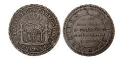 World Coins - SPAIN, Carlos IV. Orizava. 1788-1807. AR 4 Reales. 1790. Proclamation Series.