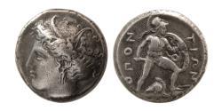 Ancient Coins - LOKRIS, Lokris Opuntii. Circa 382-356 BC. Circa 382-356 BC. AR Stater.