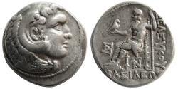 Ancient Coins - SELEKUID KINGS. Seleukos I. AR Tetradrachm. Seleukeia on the Tigris mint.