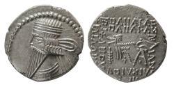 Ancient Coins - KINGS of PARTHIA. Pakoros I. Circa AD. 78-120. AR Drachm. Lovely strike.