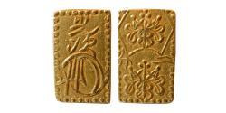 World Coins - JAPAN, Mutsuhito. Circa 1860s. Gold 2 Bu.