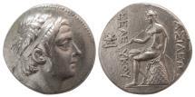 Ancient Coins - SELEUKID KINGS. Seleukos III Keraunos. 226-223 BC. AR Tetradrachm. Antioch on the Orontes.