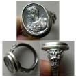 World Coins - Septimius Severus - A custom-made Sterling Silver Cameo Ring