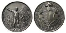 World Coins - SWITZERLAND. 1889. AR Schützenmedaille (Shooting Medal).