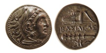 KINGS OF MACEDON. Alexander III. 336-323 BC. AE 20mm.  Kleinasien mint. Rare.
