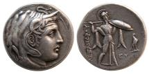 Ancient Coins - PTOLEMAIC KINGS. Ptolemy I Soter, as Satrap. 323-305 BC. AR Tetradrachm. Elegant style. Rare.