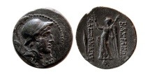 Ancient Coins - SELEUKID KINGS, Alexander I Balas. 152-145 B.C. Æ. Lovely strike.
