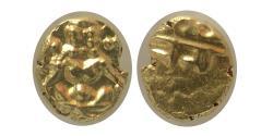 INDIA, Mysore. ND (1638-1662). Gold Fanam.  PCGS-MS 63.