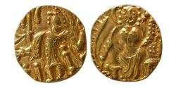 World Coins - INDIA, Post Kidaraite. Circa 5th Century AD. AV Stater.