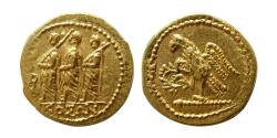 Ancient Coins - THRACE, Dynasts of Koson. mid to early 1st century BC. Gold Stater. FDC. Fully lustrous.