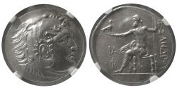 Ancient Coins - LYCIA, Phaselis. Ca. 218-185 BC. Fourree Tetradrachm, dated Year 11 (Ca. 208/7 BC.). NGC-MS