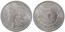 World Coins - UNITED STATES. 1886. Morgan Dollar. Choice UNC.