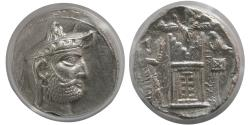 Ancient Coins - KINGS of PERSIS; Vadfradad (Autophradates) II. 200-150 BC. AR Tetradrachm. ANACS-EF 45.