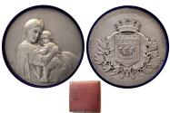 World Coins - FRANCE, Paris. 1921. Large Silver Medal.
