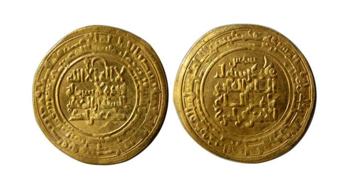 World Coins - ISLAMIC, PERSIA. Kakwayhids. Faramurz. AH 433-443 / AD 1041-1051. Gold Dinar
