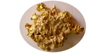 AUSTRALIAN GOLD NUGGET. Natural beauty. Very rare