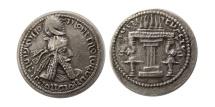 Ancient Coins - SASANIAN KINGS. Ardashir I. AD. 223/4-240. Silver Hemidrachm. Rare.